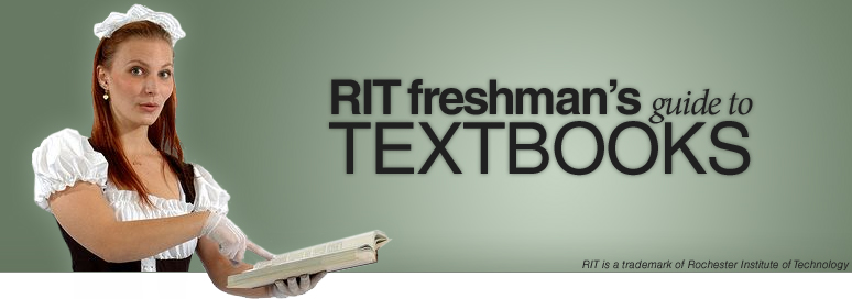 RIT Freshman's Guide to Textbooks